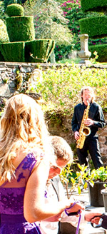 Dave Ford on Tenor sax